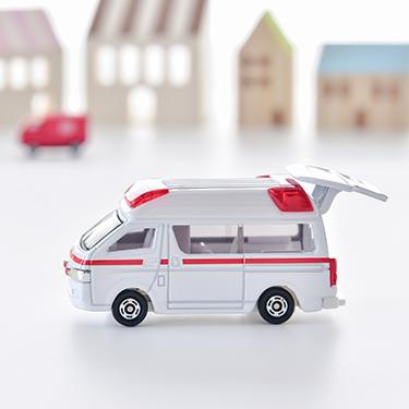 救急車のおもちゃ